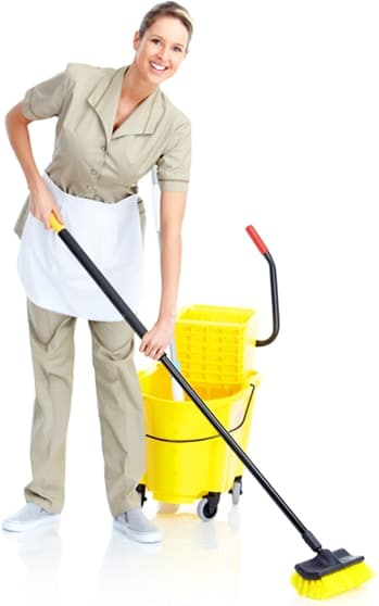 woman cleaning floor spotless Australia wa